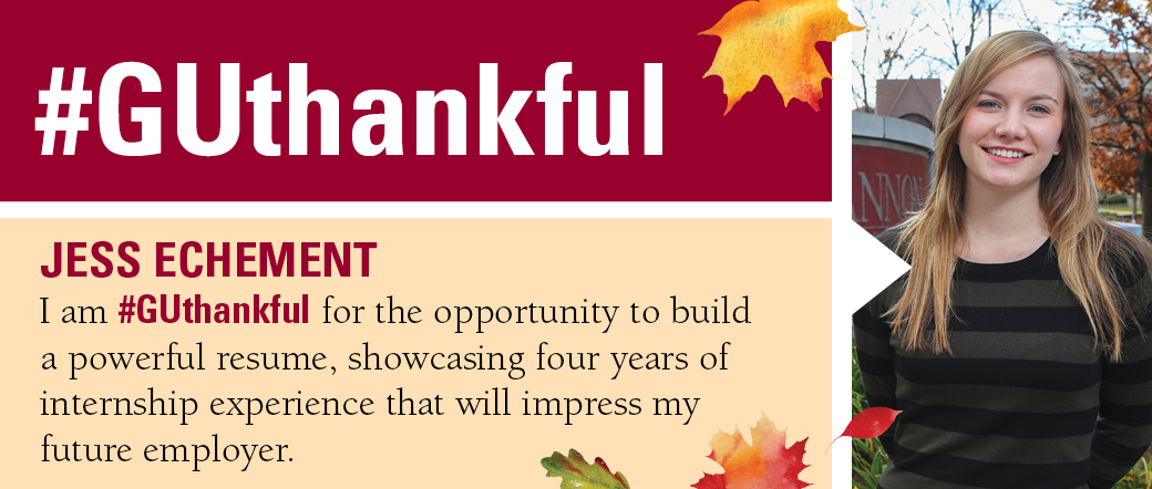 Why we are GUthankful