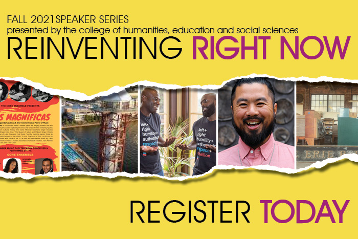 Reinventing Right Now: Fall Speaker Series Register Today