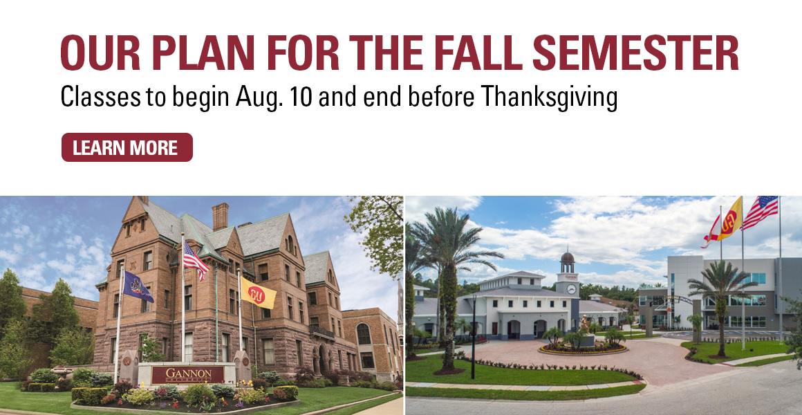 Our plan for the fall semester. Classes to begin Aug. 10 and end before Thanksgiving