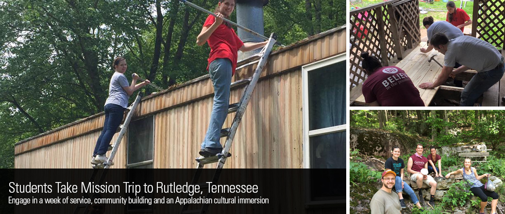 Students Take Mission Trip to Rutledge, Tennessee
