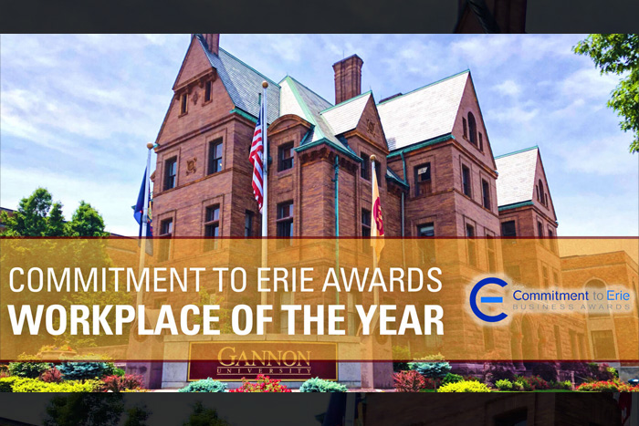 Committment to Erie Awards: Workplace of the Year.