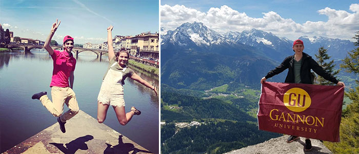 Gannon Students Traveling Abroad