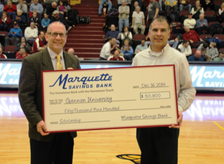 Marquette Savings Bank Check