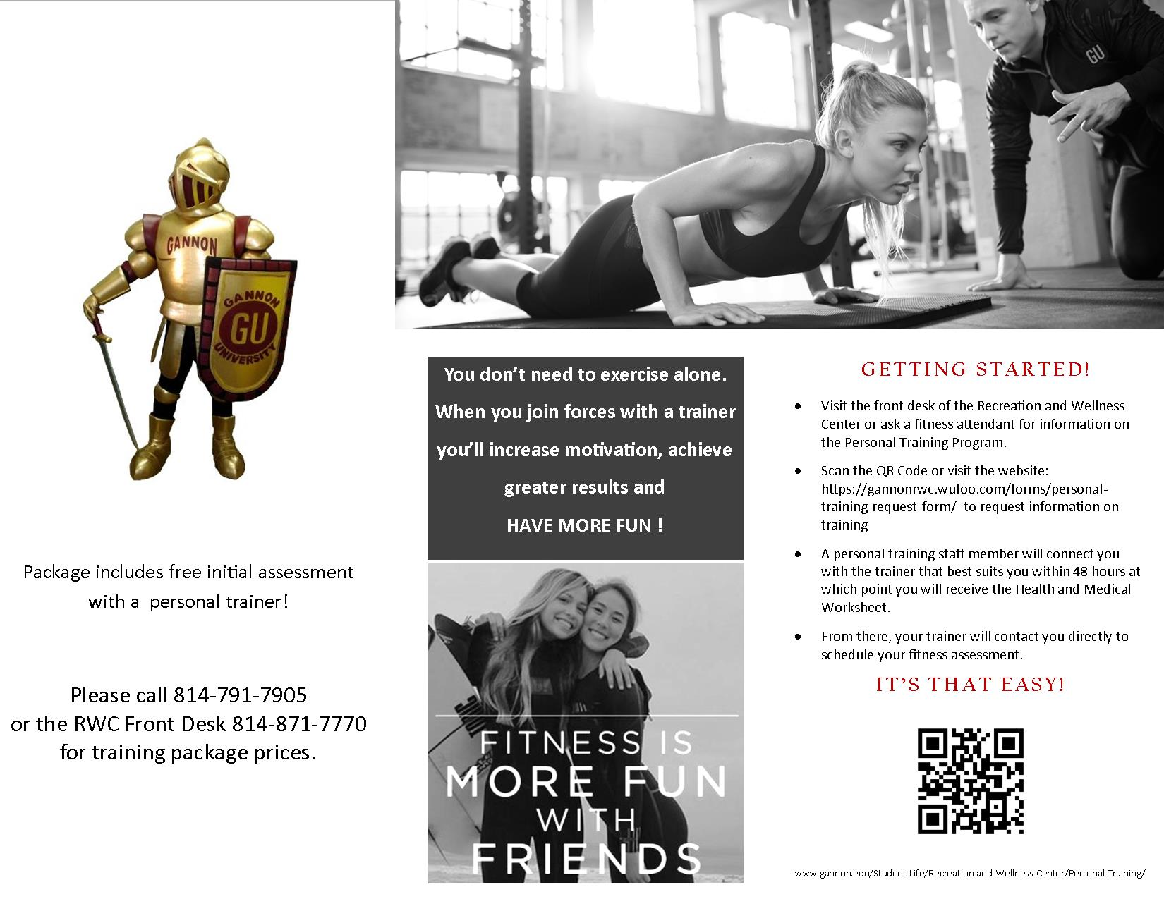 Personal Training Brochure