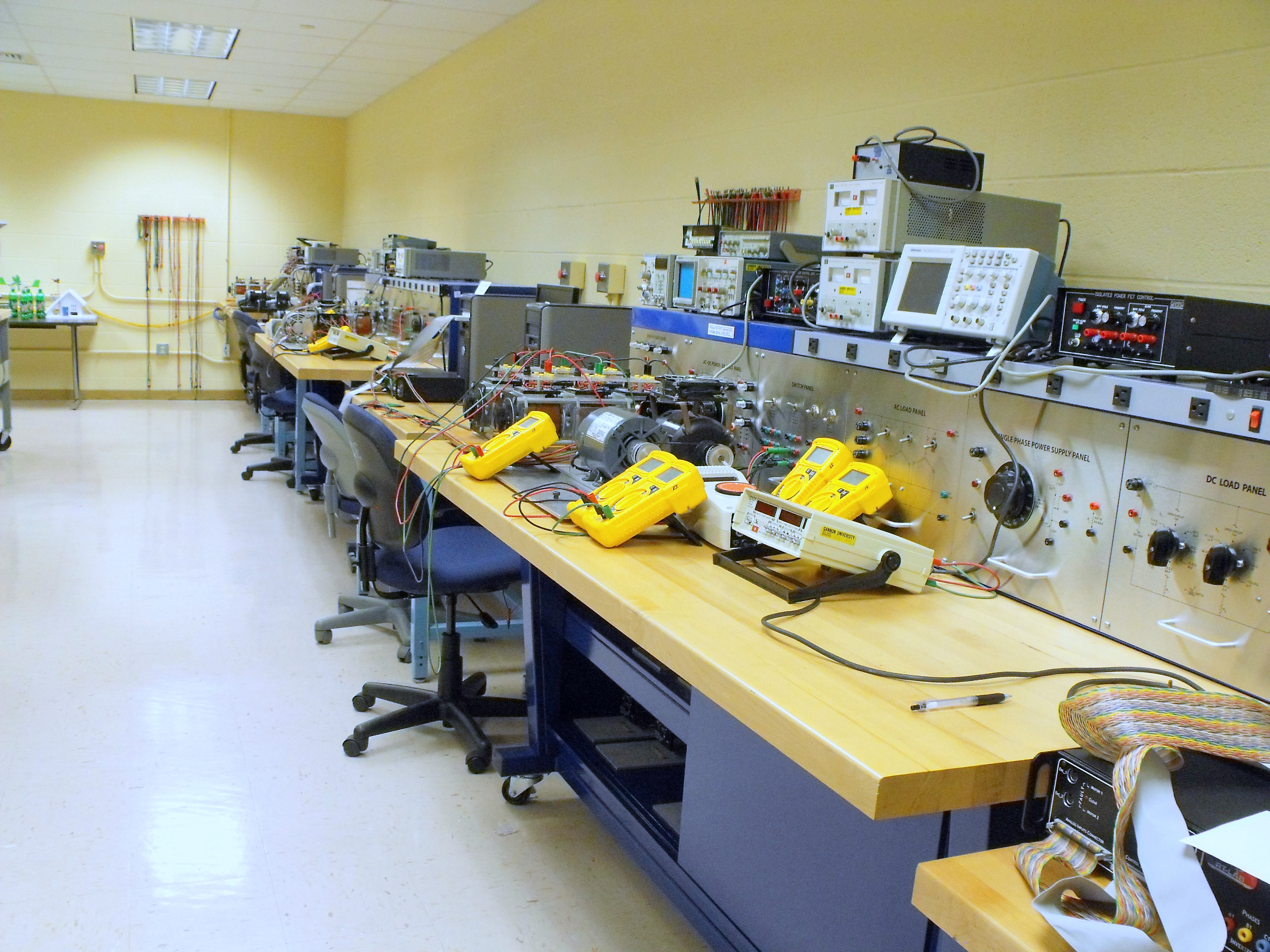 ECE Electric Drives Laboratory - 2