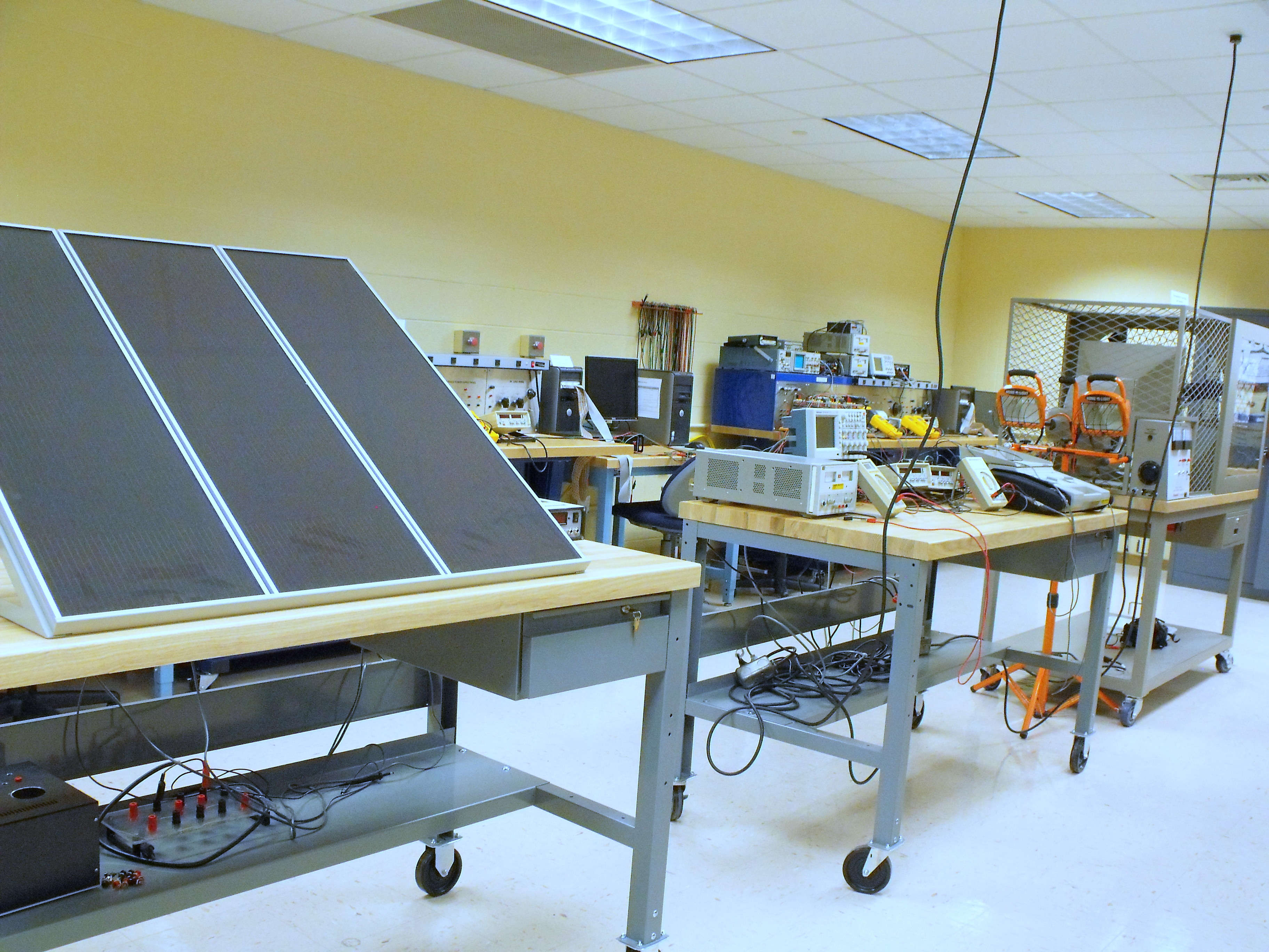 Gannon University Electric Drives Lab Z347