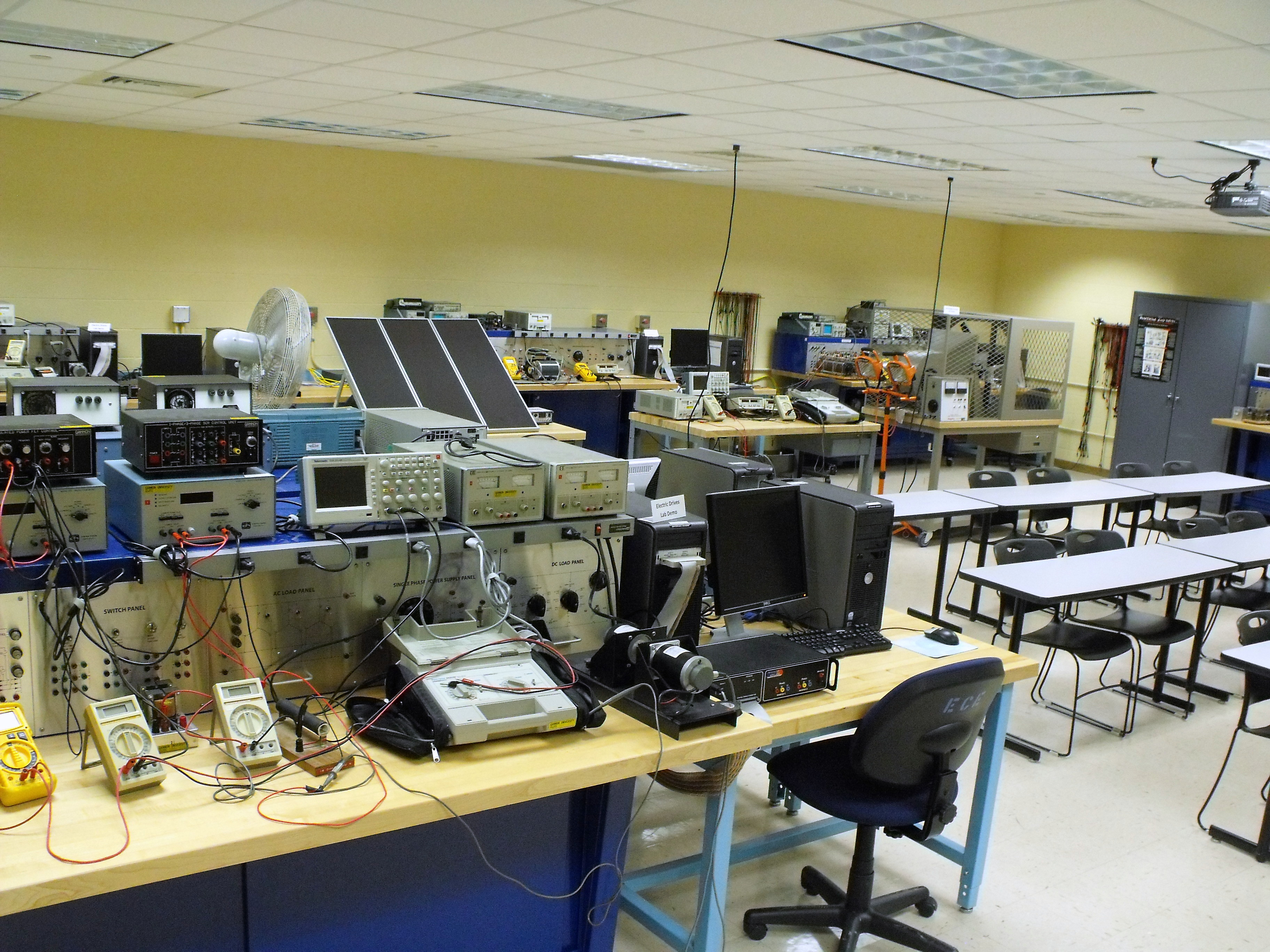 ECE Electric Drives Laboratory - 1