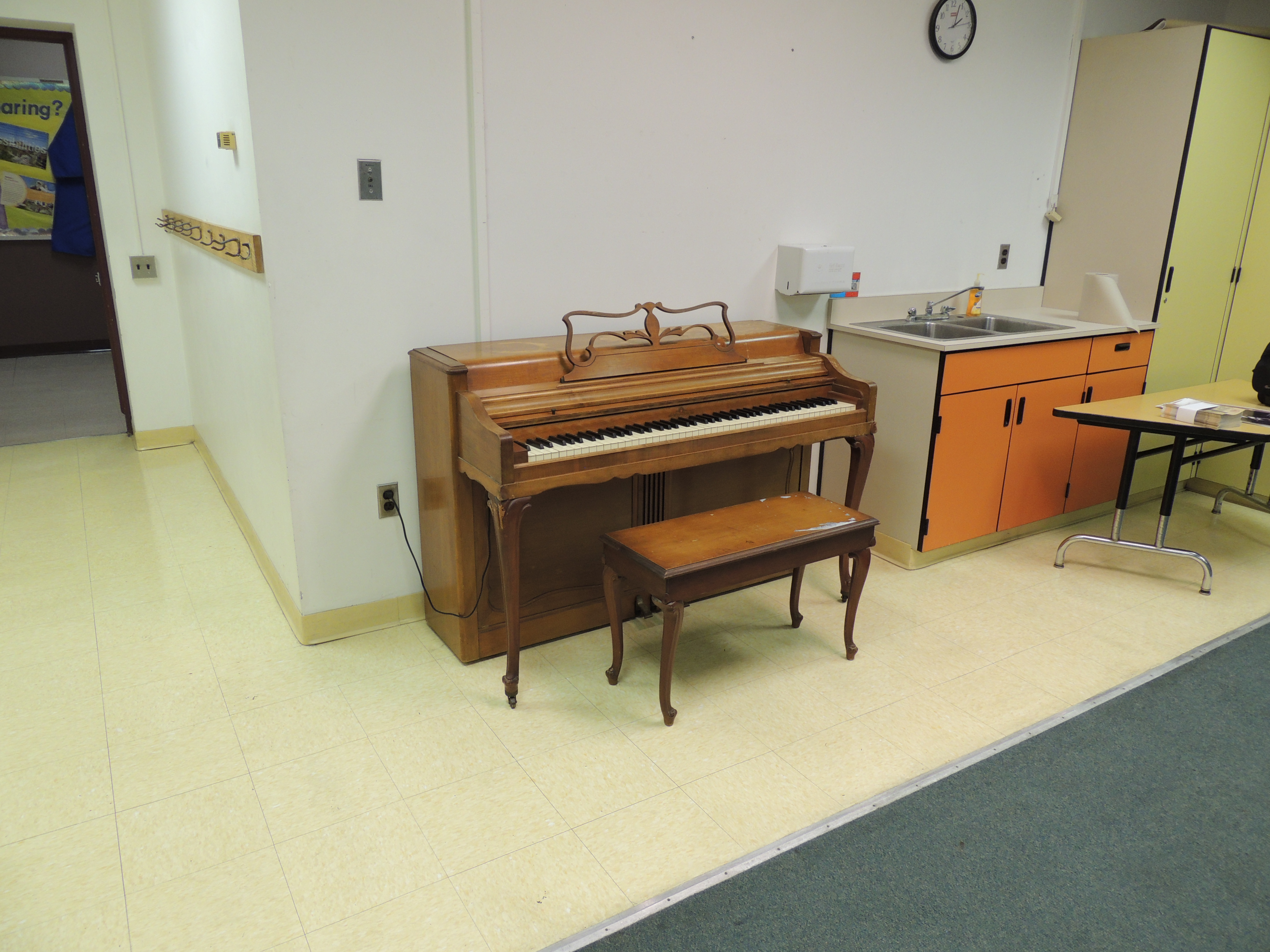 Piano Donation to Lincoln