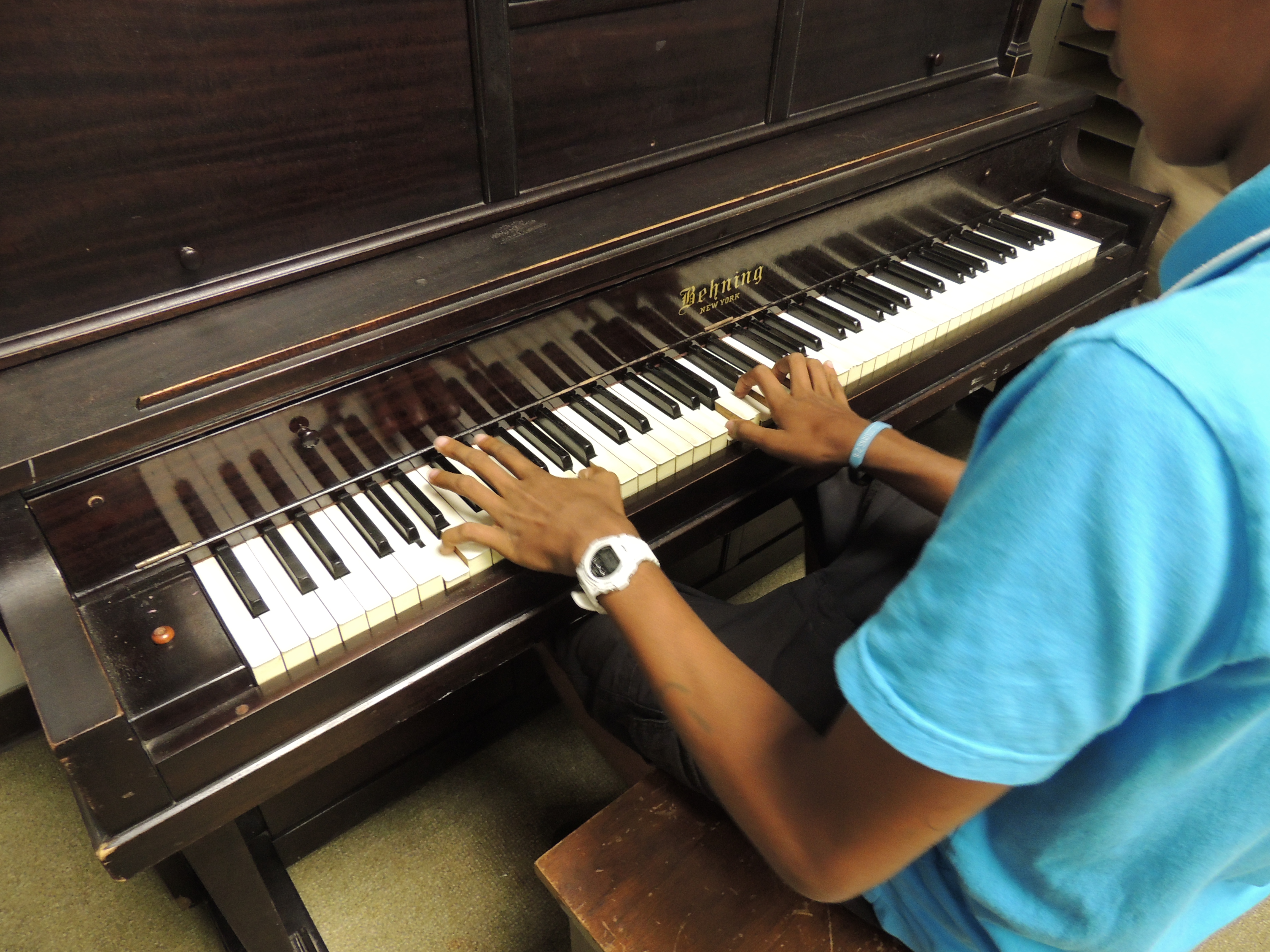 Piano Donation to Wilson