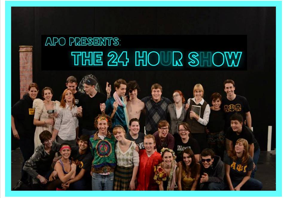 24 hour show cast and crew