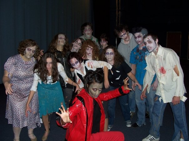 Stage Fright Zombie Flash Mob 1