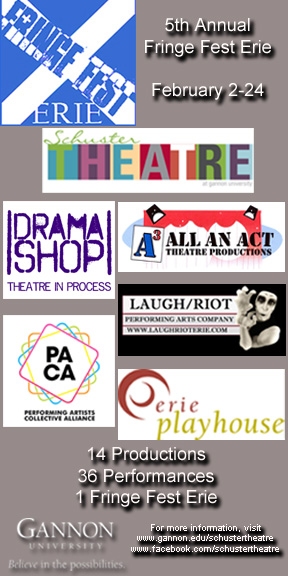 2015 Fringe Season Flyer