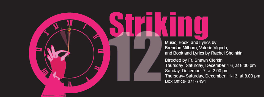 Striking 12 Banner